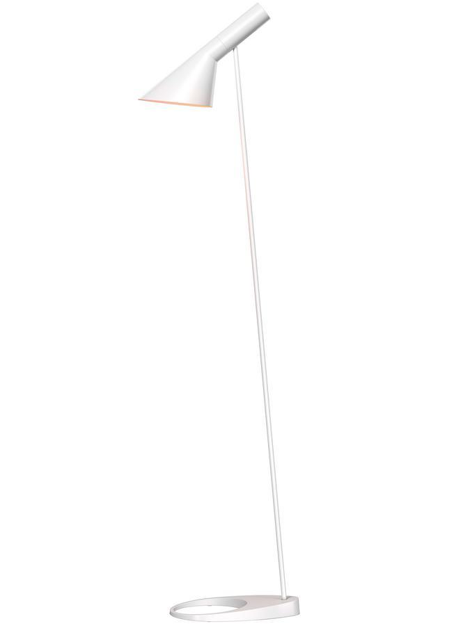 Louis Poulsen Aj Standing Lamp White By Arne Jacobsen 1960