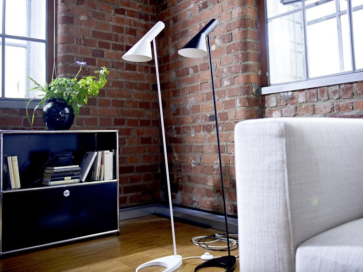 Louis Poulsen Aj Standing Lamp Original Grey Special Edition
