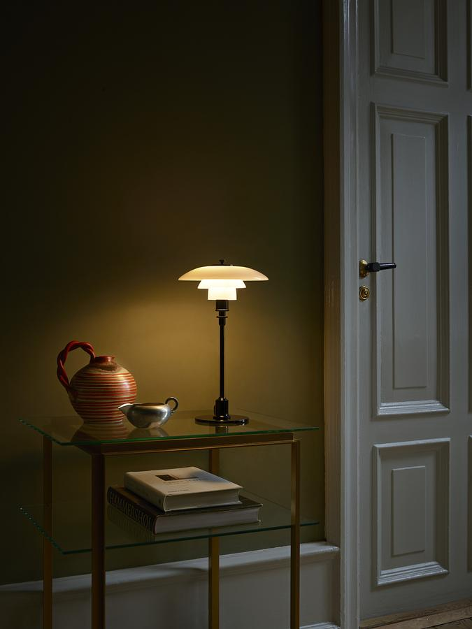 Louis poulsen ph 21 table lamp by poul henningsen 1926 28 click here for more images mozeypictures Choice Image