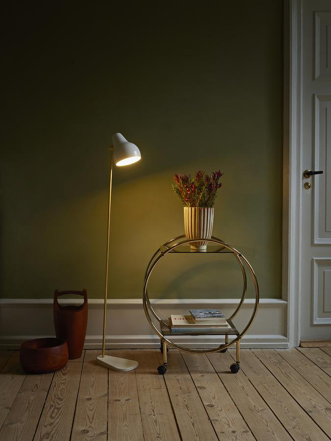 Louis poulsen vl38 floor lamp by vilhelm lauritzen 1938 designer vl38 floor lamp aloadofball Choice Image