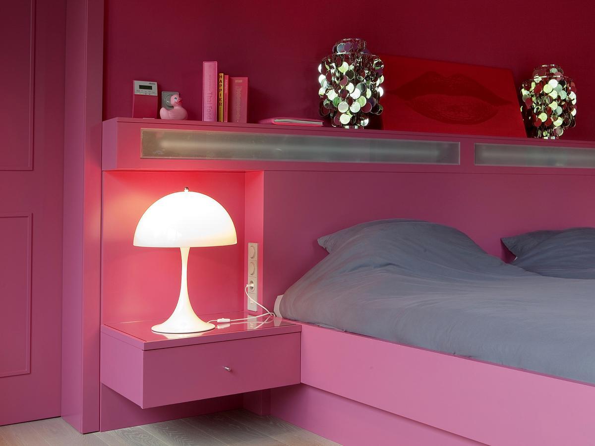 louis poulsen panthella table lamp by verner panton 1971 designer furniture by. Black Bedroom Furniture Sets. Home Design Ideas