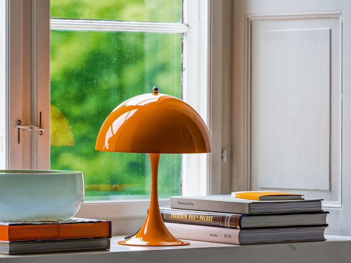 louis poulsen panthella mini table lamp by verner panton 1971 2016 designer furniture by. Black Bedroom Furniture Sets. Home Design Ideas