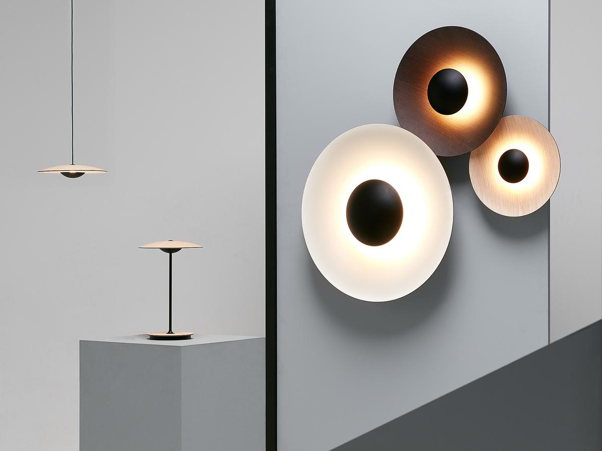 marset ginger wall lamp by joan gaspar 2014 designer. Black Bedroom Furniture Sets. Home Design Ideas
