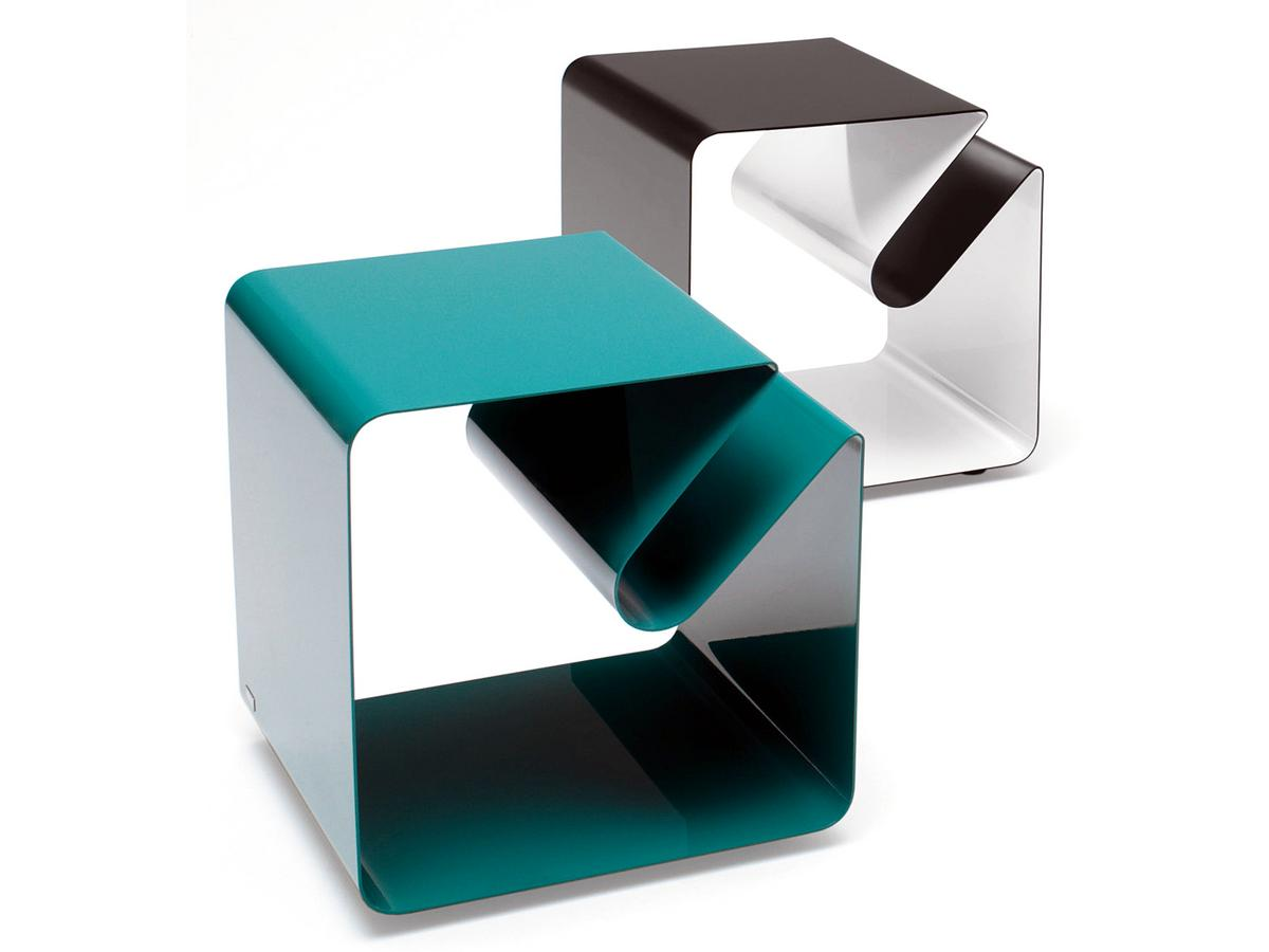 m ller m belfabrikation v44 side table by delphin design. Black Bedroom Furniture Sets. Home Design Ideas