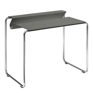 PS07 Secretary Middle grey (RAL 7005)|Without desk pad|chromed