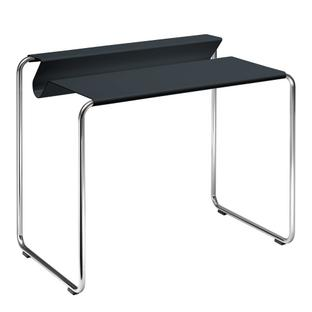 PS07 Secretary Anthrazite grey (RAL 7016)|Without desk pad|chromed