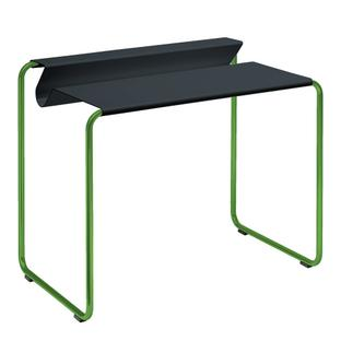 PS07 Secretary Anthrazite grey (RAL 7016)|Without desk pad|Grass green (RAL 6010)