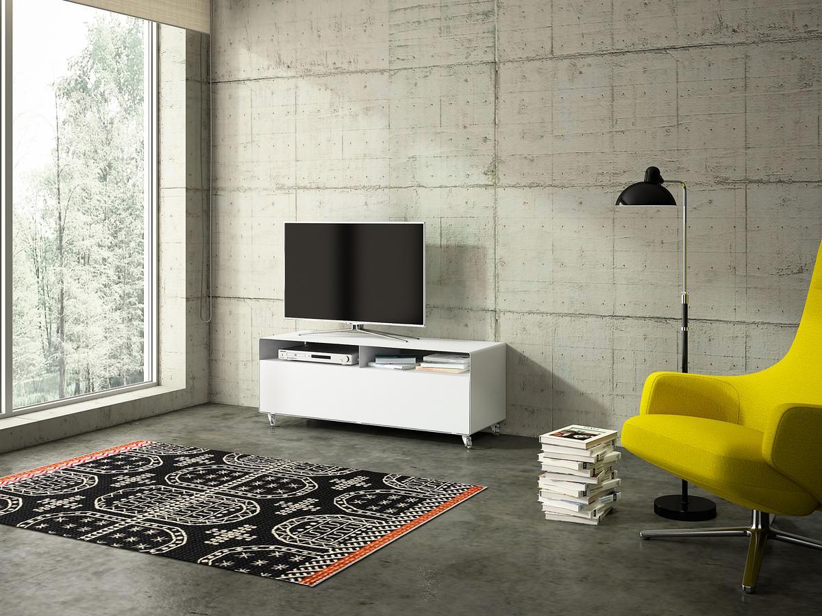 m ller m belfabrikation tv lowboard r 109n by wendelin m ller designer furniture by. Black Bedroom Furniture Sets. Home Design Ideas