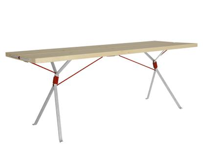 Kampenwand Table Outdoor - Red rope