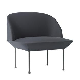 Oslo Chair Fabric Steelcut dark grey