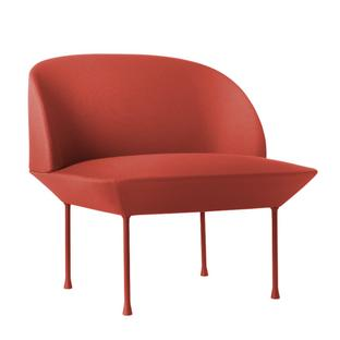 Oslo Chair Fabric Steelcut red