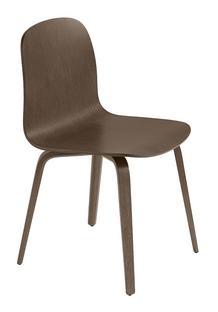 Visu Chair Dark brown stained oak