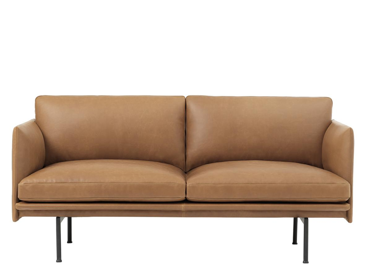 Sofa Leder Cognac muuto outline studio sofa leather cognac by anderssen voll 2016
