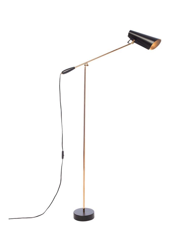 89a2a7ab311 Birdy Floor Lamp Black brass