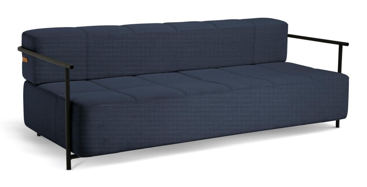 Picture of: Northern Daybe Sofa Bed With Armrest 98 Dark Blue By Morten Jonas 2018 Designer Furniture By Smow Com