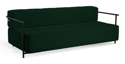 Daybe Sofa bed With armrest Reflect 994 - dark green