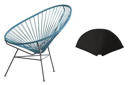 Acapulco Sessel ok design acapulco chair petrol black by ok design designer