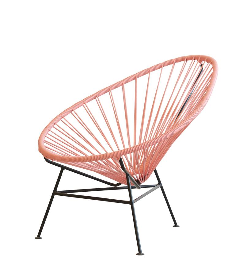 Ok Design Acapulco Chair Mini Dusty Pink By Ok Design Designer Furniture By Smow Com