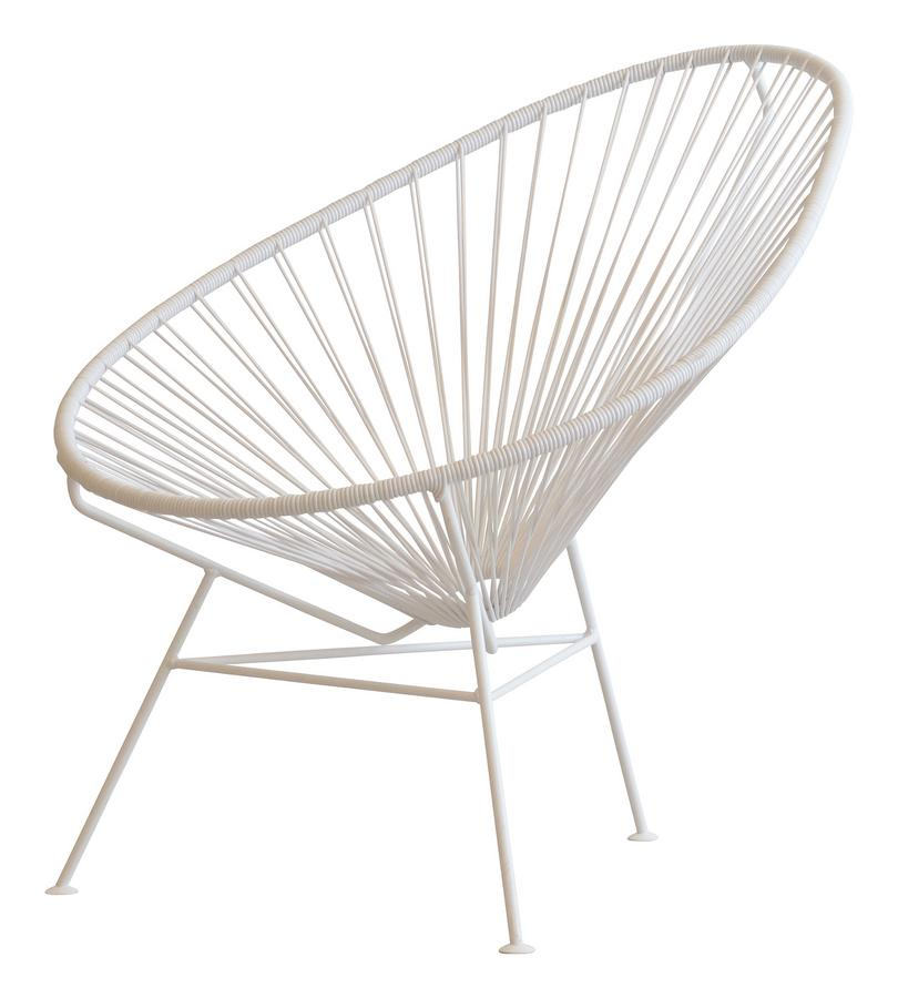 Ok design acapulco chair white by ok design designer for White chair design