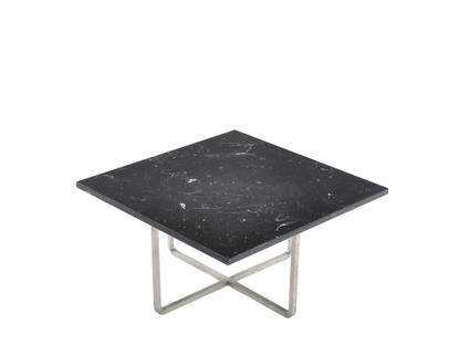 Ninety Table Small (H 30 x W 60 x D 60 cm)|Black|Stainless steel