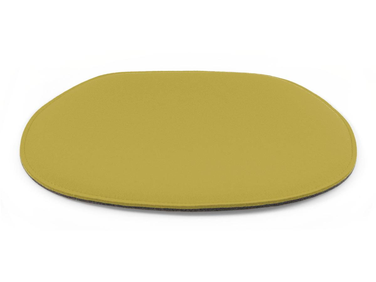 Seat Pad For Eames Side Chairs With Upholstery|Mustard