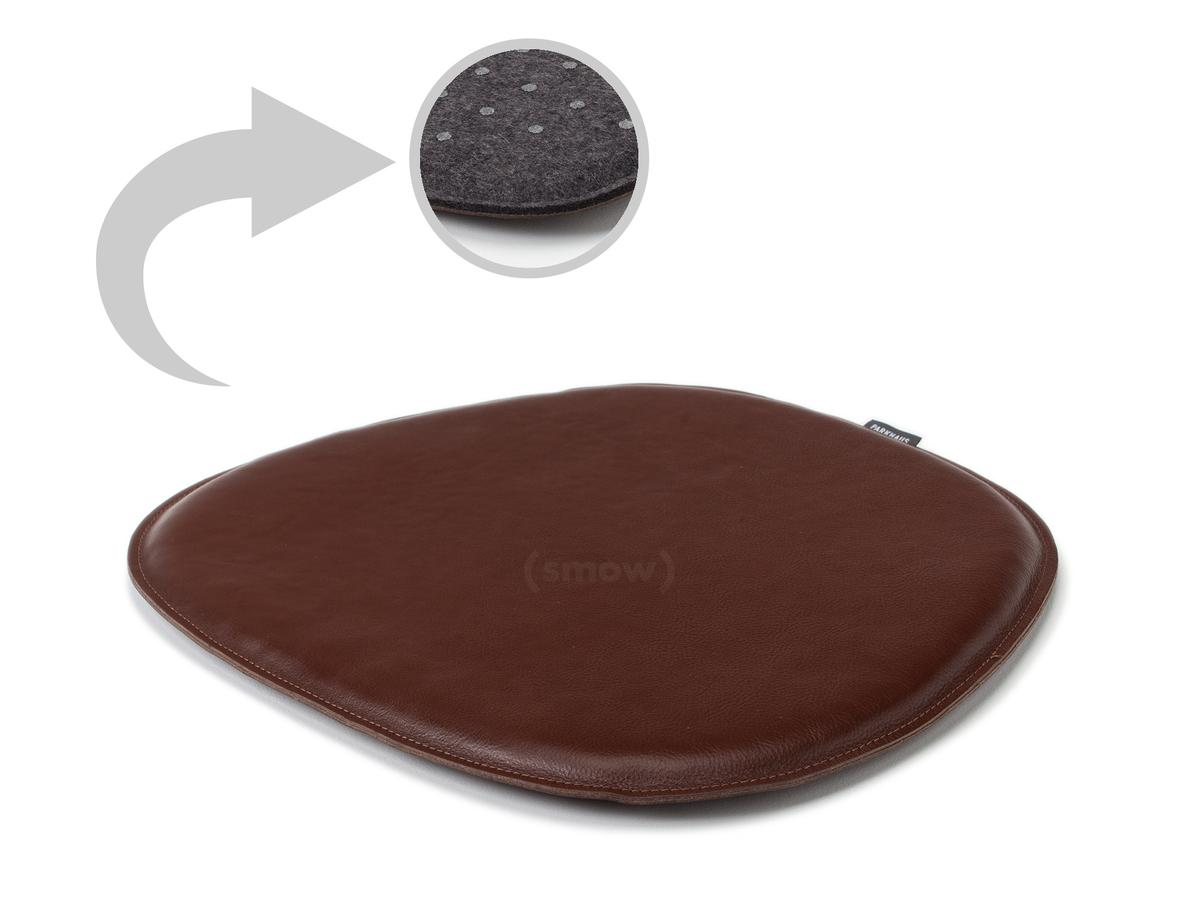 Parkhaus Berlin Leather Seat Pad For, Eames Side Chair Cushion