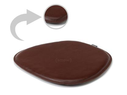 Leather Seat Pad for Eames Side Chairs