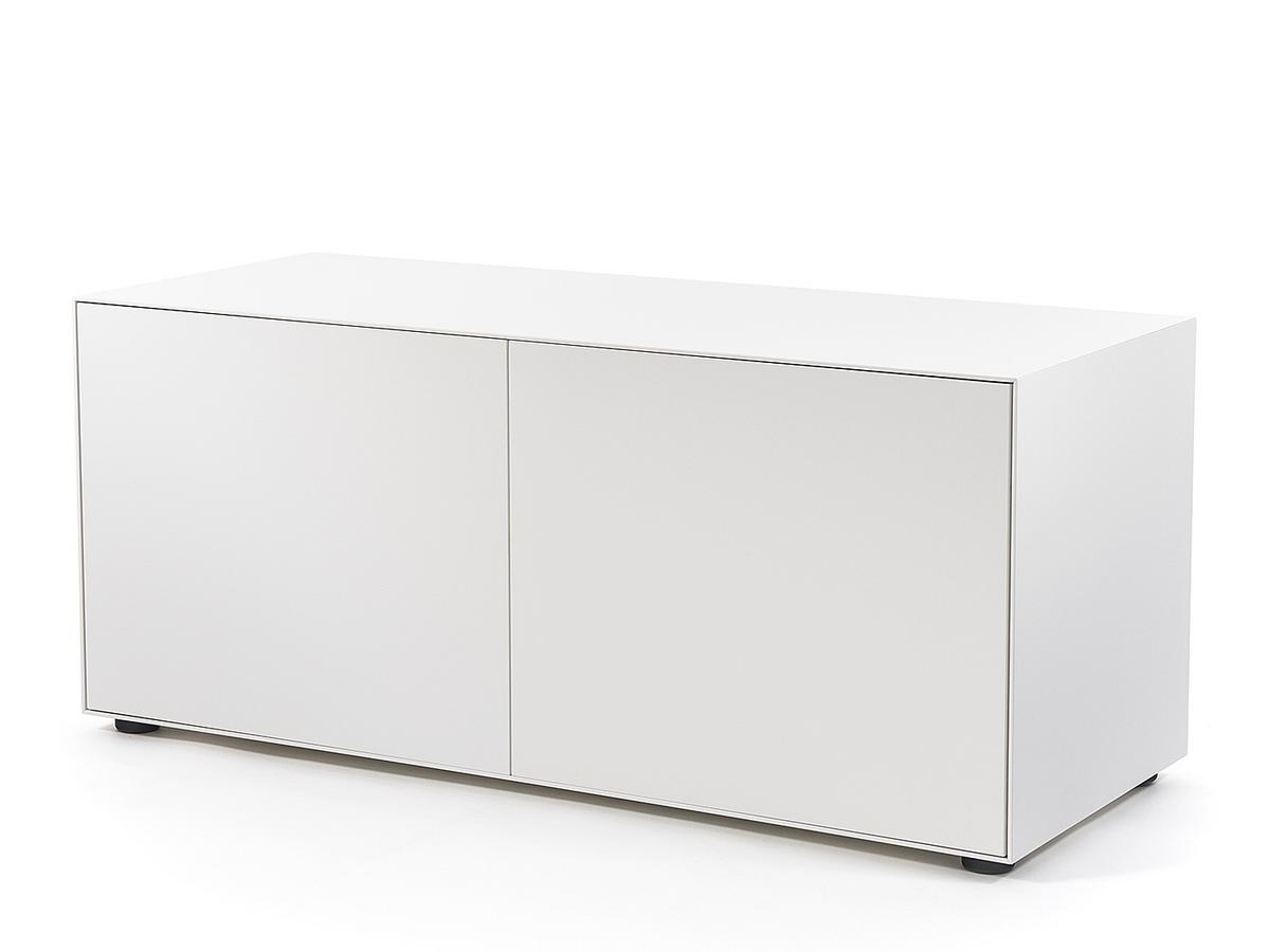 Piure nex pur box with doors by piure designer furniture for Kommode 120 breit 50 tief