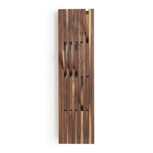 Piano Coat Rack H 147 x W 39 cm|Walnut natural oiled