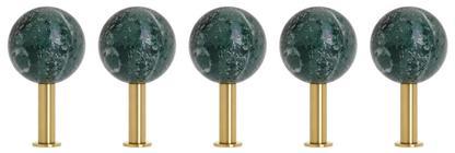 Dots Stone Wall Hooks Set of 5
