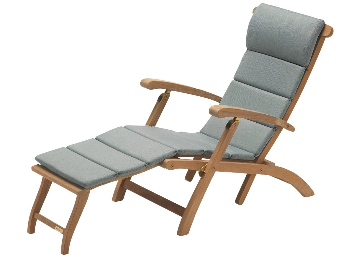 Steamer Deck Chair Dark Grey