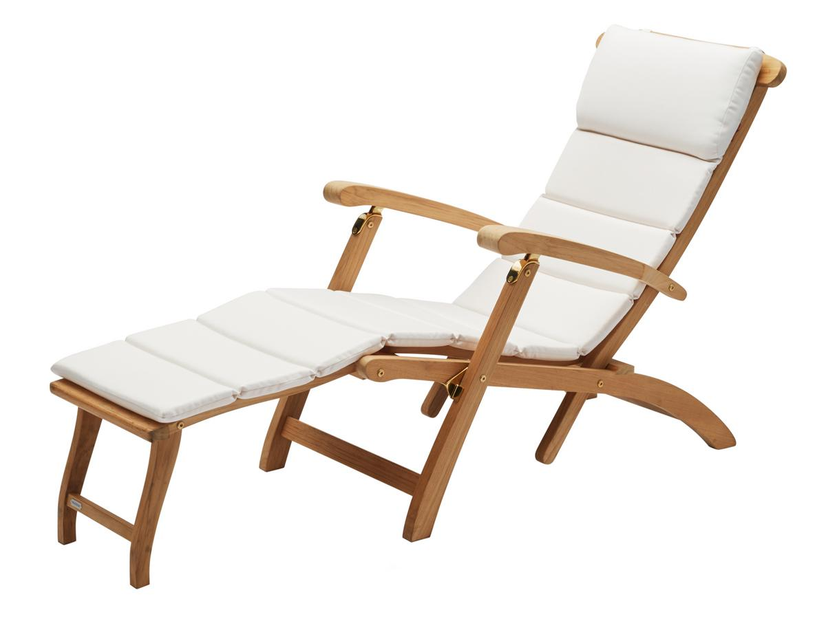 Skagerak Steamer Deck Chair White By