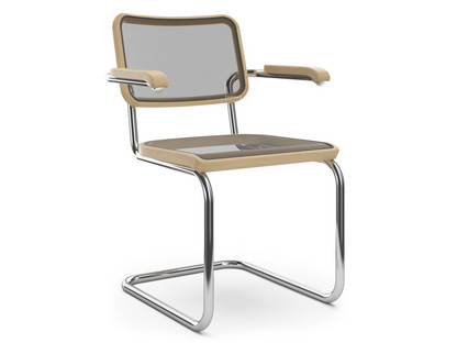 S 32 N / S 64 N Pure Materials Oiled Oak|Chrome-plated|With armrests