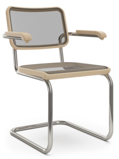 S 32 N / S 64 N Pure Materials Oiled ash|Nickel plated|With armrests