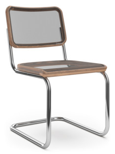 S 32 N / S 64 N Pure Materials Oiled Walnut|Chrome-plated|Without armrests