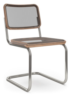 S 32 N / S 64 N Pure Materials Oiled Walnut|Nickel plated|Without armrests