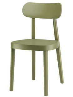 118 / 118 M Stained beech - olive green Moulded plywood seat