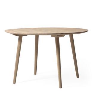 tradition in between round table 120 cm white oiled oak by sami kallio 2014 designer. Black Bedroom Furniture Sets. Home Design Ideas