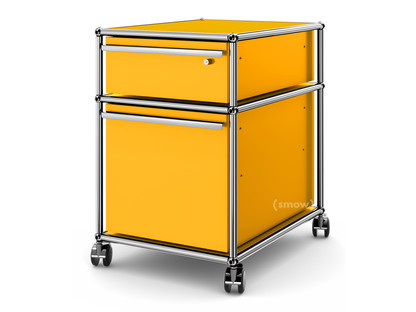 USM Haller Mobile Pedestal with Hanging File Basket