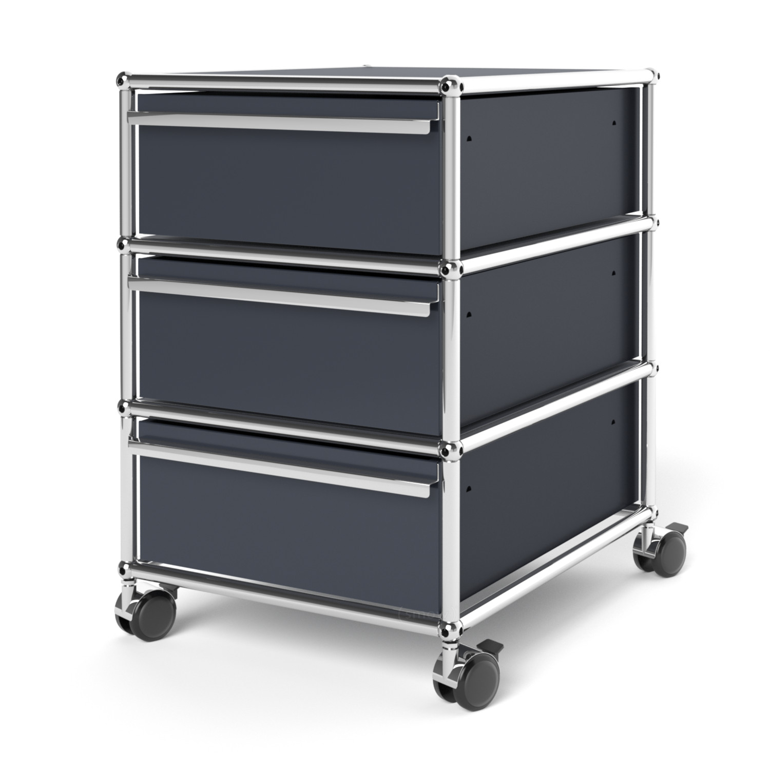 USM Haller Mobile Pedestal with 32 Drawers Type I (with