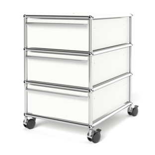 USM Haller Mobile Pedestal with 3 Drawers Type I (with Counterbalance)