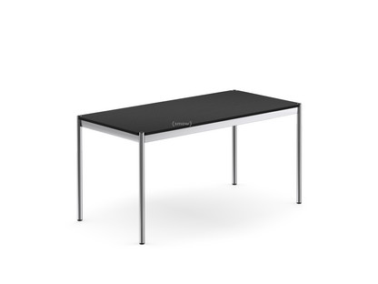 USM Haller Table 150 x 75 cm|Wood|Black lacquered oak