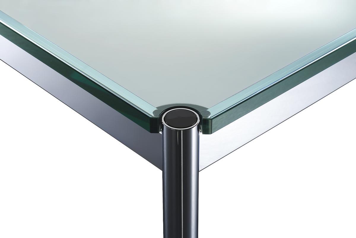 usm haller glass table by fritz haller paul sch rer. Black Bedroom Furniture Sets. Home Design Ideas