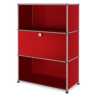 USM Haller Highboard M with 1 Drop-down Door