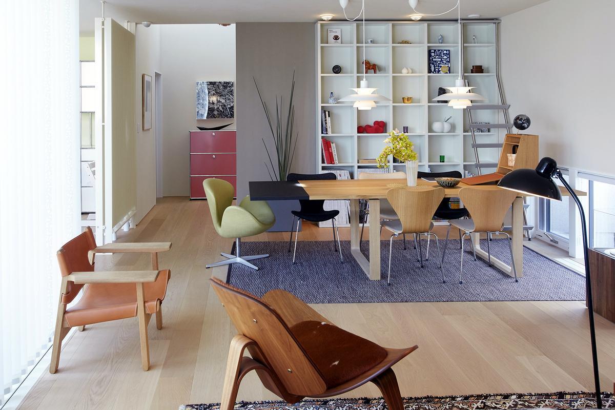 usm haller highboard m open by fritz haller paul sch rer. Black Bedroom Furniture Sets. Home Design Ideas