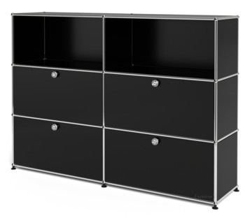 USM Haller Highboard L with 4 Drop-down Doors