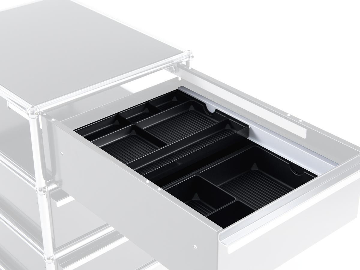 usm haller usm inos organising tray c4 for a6 drawer. Black Bedroom Furniture Sets. Home Design Ideas