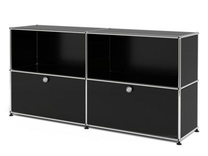 USM Haller Sideboard L with 2 Drop-down Doors