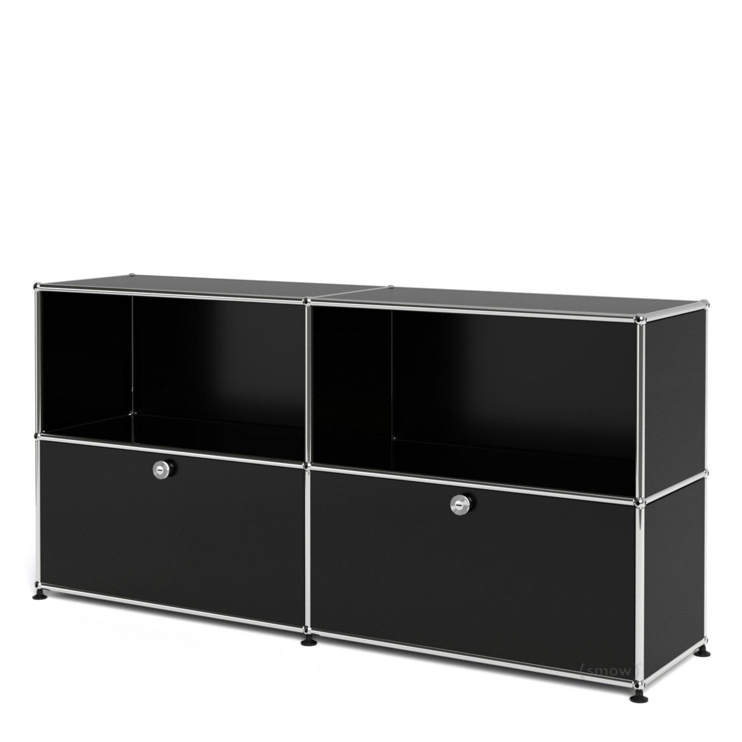 usm haller sideboard l with 2 drop down doors by fritz. Black Bedroom Furniture Sets. Home Design Ideas