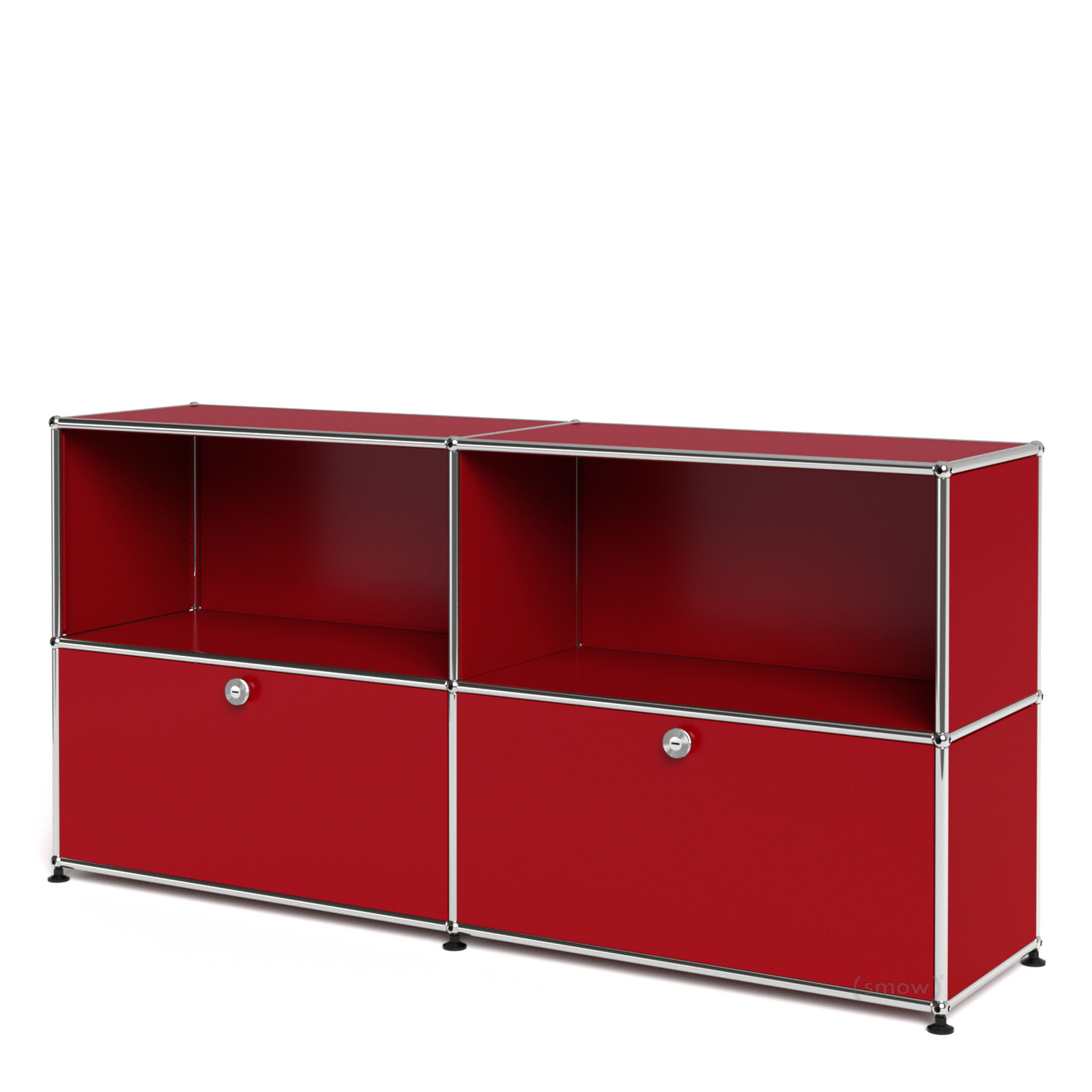 Usm haller sideboard l with 2 drop down doors usm ruby for Sideboard usm